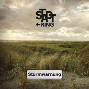 Cover des Albums Sturmwarnung der Rockband Stadtring aus Cottbus